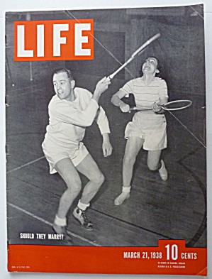 Life Magazine March 21, 1938 Should They Marry? (Image1)