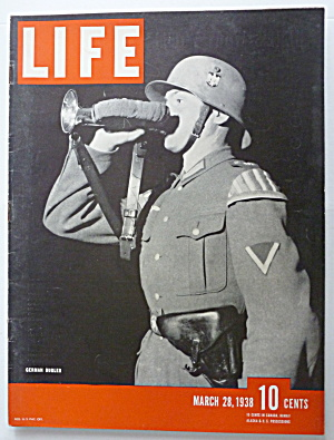 Life Magazine March 28, 1938 German Bugler (Image1)