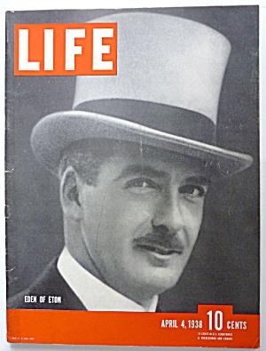 Life Magazine April 4, 1938 Eden Of Eton (Image1)