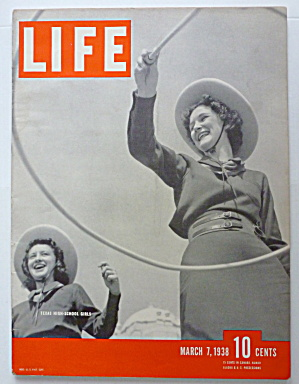 Life Magazine March 7, 1938 Texas High School Girls (Image1)