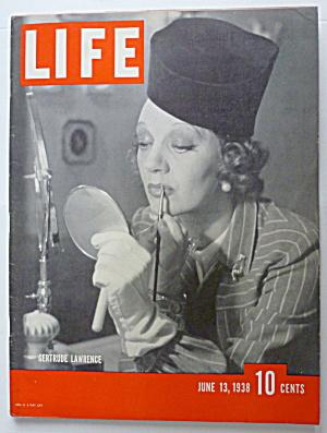Life Magazine June 13, 1938 Gertrude Lawrence  (Image1)