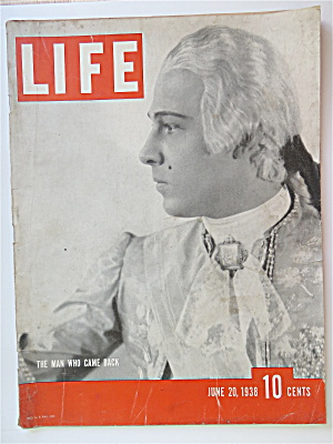 Life Magazine June 20, 1938 The Man Who Came Back (Image1)