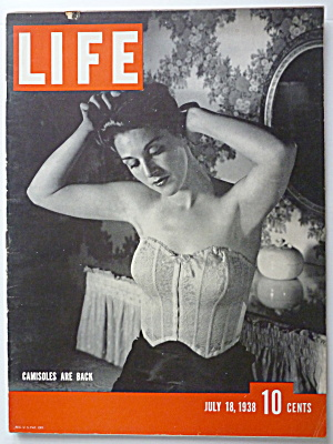Life Magazine July 18, 1938 Camisoles Are Back
