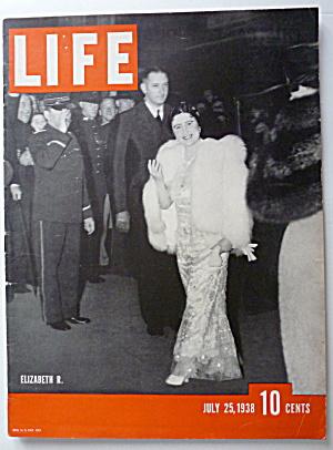 Life Magazine July 25, 1938 Elizabeth R. (Image1)