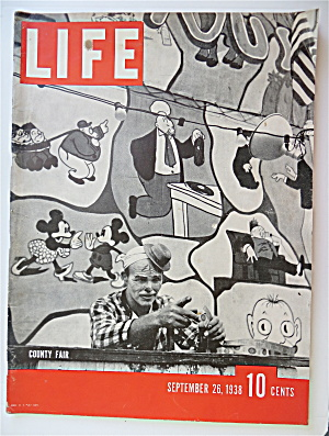 Life Magazine September 26, 1938 County Fair