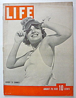 Life Magazine August 29, 1938 Goodby To Summer