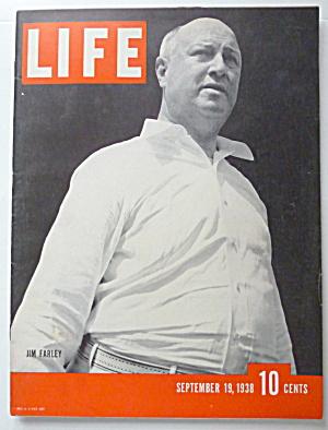 Life Magazine September 19, 1938 Jim Farley  (Image1)