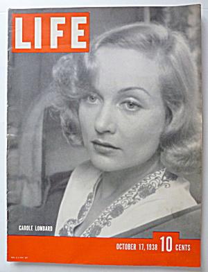 Life Magazine October 17, 1938 Carole Lombard  (Image1)