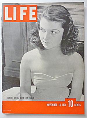 Life Magazine November 14, 1938 Brenda Diana  (Image1)