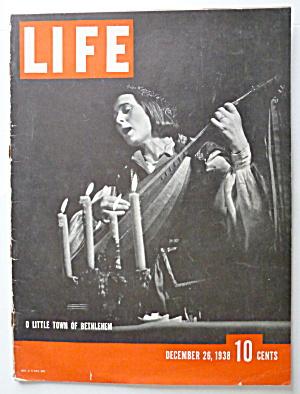 Life Magazine December 26, 1938 Town Of Bethlehem (Image1)