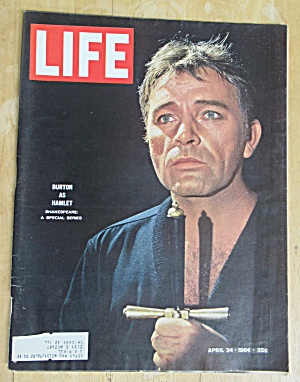 Life Magazine April 24, 1964 Burton As Hamlet  (Image1)