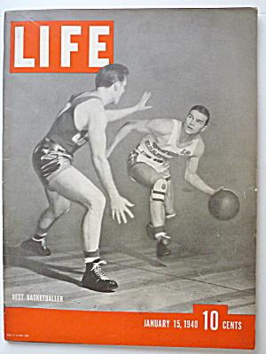 Life Magazine January 15, 1940 Best Basketballer (Image1)