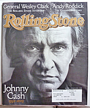 Rolling Stone Magazine October 16, 2003 Johnny Cash  (Image1)