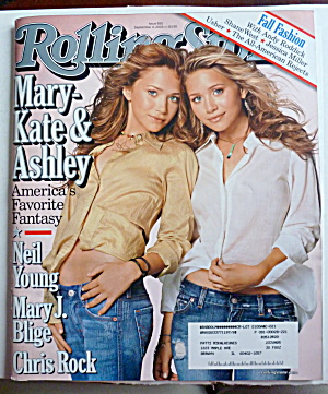 Rolling Stone Magazine September 4, 2003 Olsen Twins