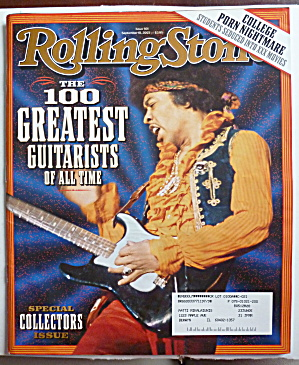 Rolling Stone Magazine September 18, 2003 Guitarists