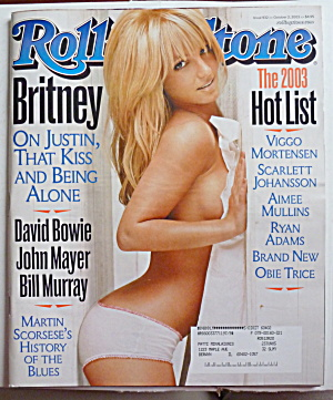 Rolling Stone Magazine October 2, 2003 Britney Spears (Image1)