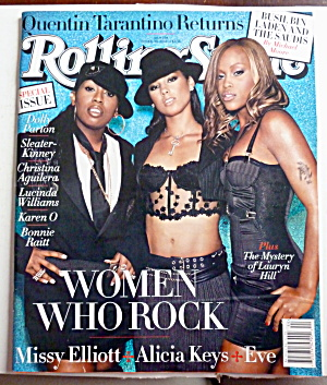Rolling Stone Magazine October 30, 2003 Alicia Keys  (Image1)