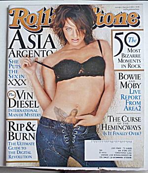 Rolling Stone Magazine September 5, 2002 Asia Argento (Image1)