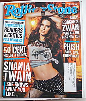 Rolling Stone Magazine February 6, 2003 Shania Twain  (Image1)
