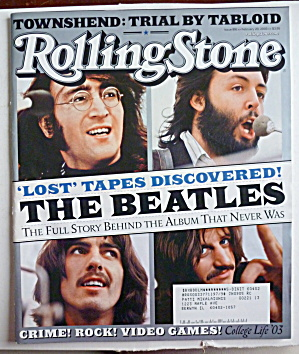 Rolling Stone Magazine February 20, 2003 The Beatles