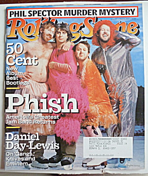 Rolling Stone Magazine March 6, 2003 Phish (Image1)