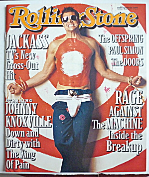 Rolling Stone Magazine February 1, 2001 John Knoxville