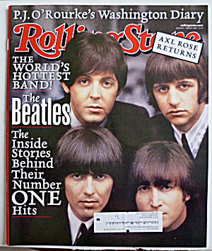 Rolling Stone Magazine March 1, 2001 The Beatles  (Image1)