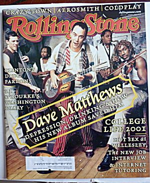 Rolling Stone Magazine March 15, 2001 Dave Matthews (Image1)