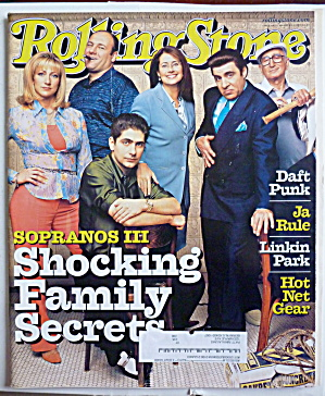 Rolling Stone Magazine March 29, 2001 Sopranos  (Image1)