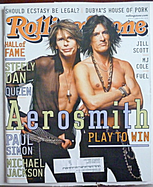 Rolling Stone Magazine April 26, 2001 Aerosmith (Image1)