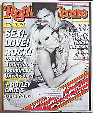 Rolling Stone Magazine May 10, 2001 Pam & Tommy