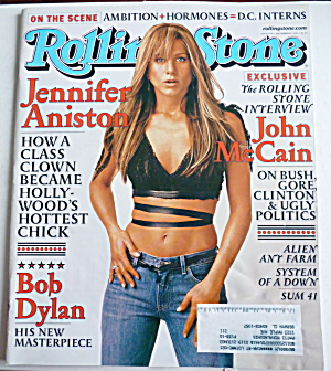 Rolling Stone Magazine September 27, 2001 Jennifer A.