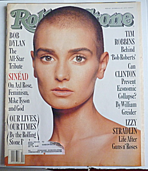 Rolling Stone Magazine October 29, 1992 Sinead
