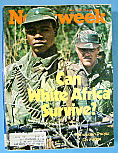 Newsweek Magazine-june 7, 1976-can White Africa Survive
