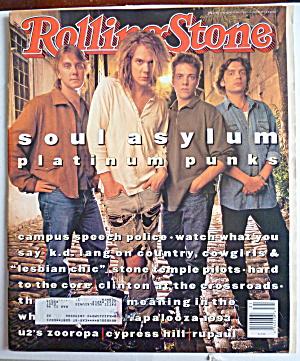 Rolling Stone Magazine August 5, 1993 Soul Asylum (Image1)