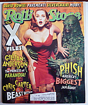 Rolling Stone February 20, 1997 Gillian Anderson