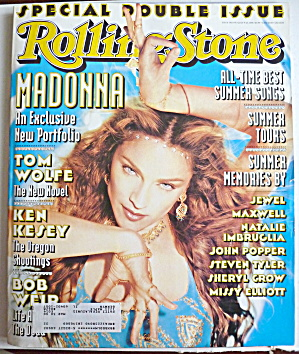 Rolling Stone July 9-23, 1998 Madonna