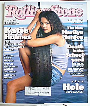 Rolling Stone September 17, 1998 Katie Holmes