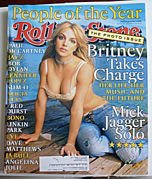Rolling Stone December 6-13, 2001 Britney Spears (Image1)