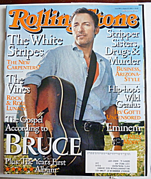 Rolling Stone August 22, 2002 Bruce Springsteen (Image1)
