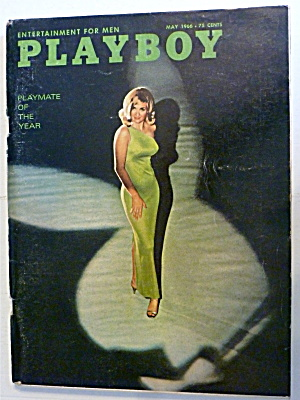 Playboy Magazine-may 1966-dolly Read