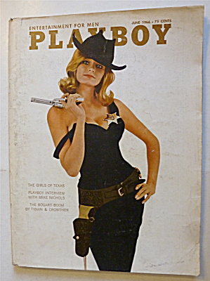 Playboy Magazine-june 1966-kelly Burke