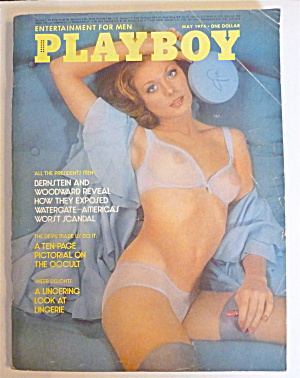 Playboy Magazine-may 1974-marilyn Lange