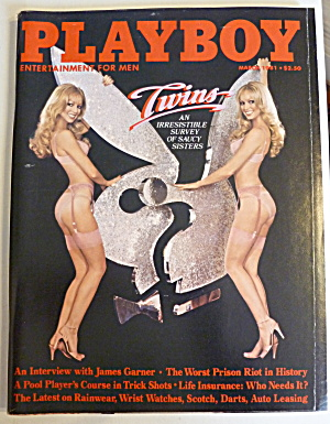 Playboy Magazine-March 1981-Kymberly Herrin (Image1)
