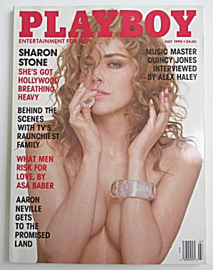 Playboy Magazine-july 1990-jacqueline Sheen