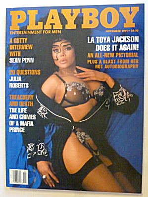 Playboy Magazine-november 1991-tonja Christensen