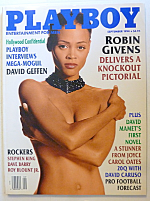Playboy Magazine-September 1994-Kelly Gallagher (Image1)