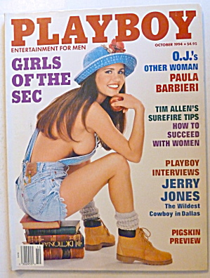 Playboy Magazine October 1994 Victoria Zdrok Playboy At