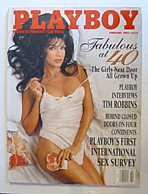 Playboy Magazine-february 1995-lisa Marie Scott