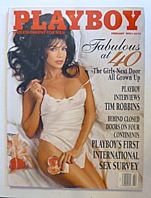 Playboy Magazine-February 1995-Lisa Marie Scott (Image1)